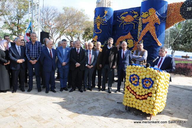 6. Uluslararası Mersin Narenciye Festivali Başladı