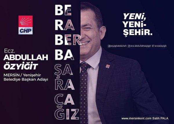 CHP Yenişehir Belediye Başkan Adayı ÖZYİĞİT,Birlikte Kazanacağız
