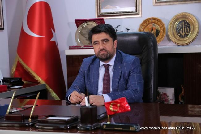 AK Parti Mersin İl Başkanı Ercik, 10 Ocak Çalışan Gazeteciler Günü'nü Kutladı.