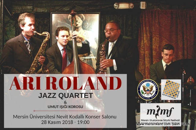 Ari Roland Jazz Quartet Mersin'de