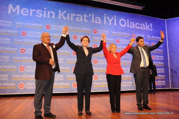 Ayfer Yılmaz Demokrat Parti ve İyi Partinin Mersin Adayı