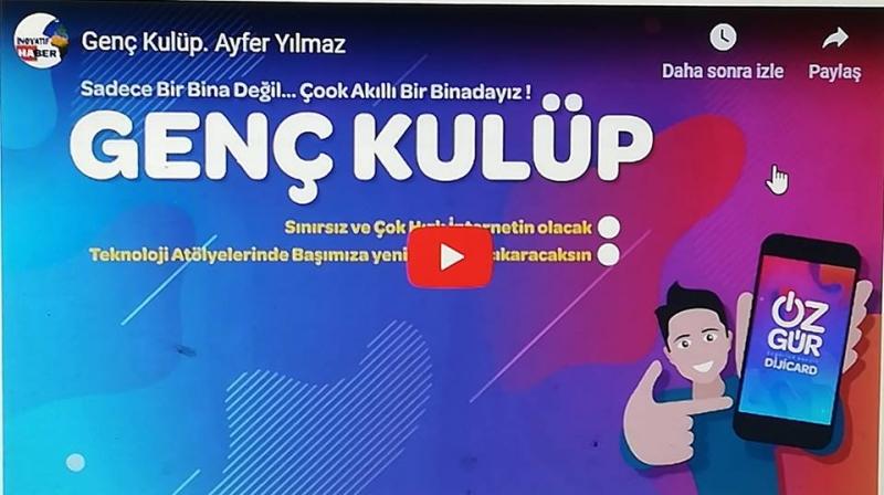 Ayfer Yılmaz DP  Mersin Büyükşehir Belediye Başkan Adayı
