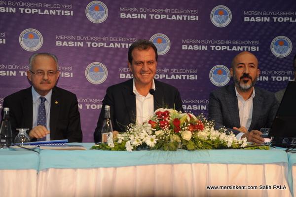 Başkan Seçer, Mersin Büyükşehir Belediye'sinin 2.2 Milyar Borcu Var.