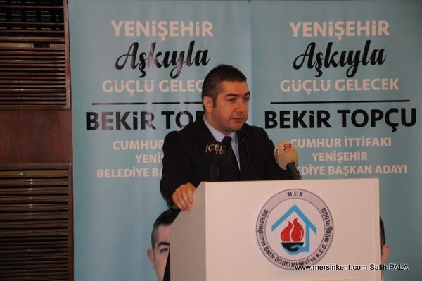 Bekir Topçu Yenişehir İle İlgili Projelerini Açıkladı