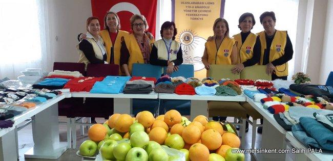 Çamlıbel Lions Kulüp'ten Bitlis'deki Öğrencilere Yeni Yıl Armağanları