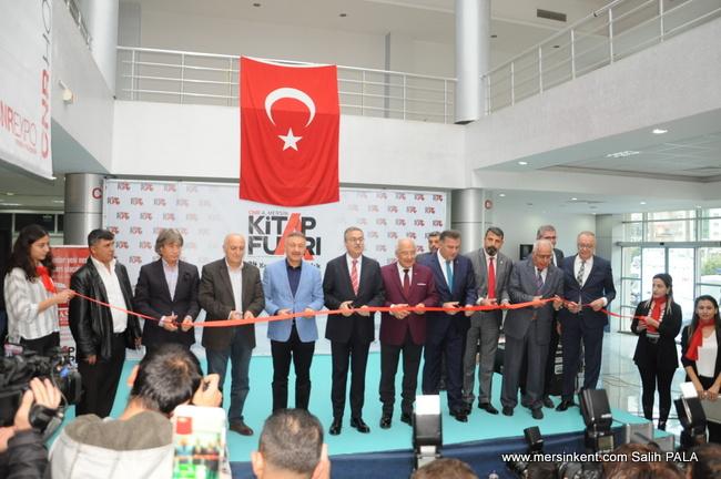 CNR Expo Mersin Kitap Fuarı Törenle Açıldı