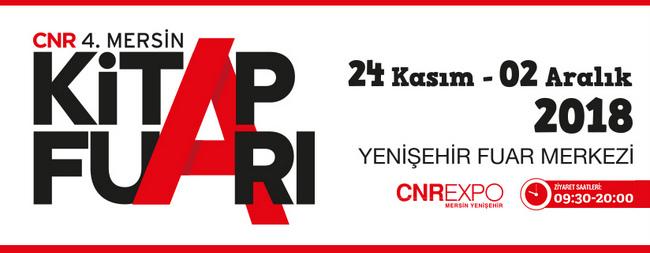 CNR Mersin Kitap Fuarı Açılıyor
