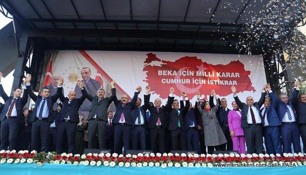Cumhur İttifakı Mersin Adaylarını Tanıttı