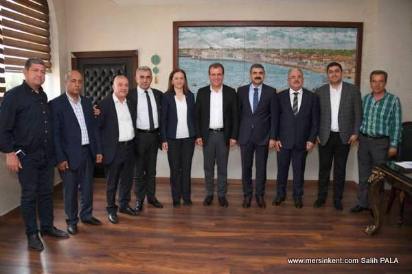DİSK, Başkan Seçer'i Ziyaret Etti