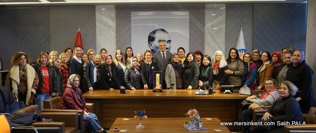 Fatma Köse Yeni Yıla ,Üretici Kadınlarla Girdi