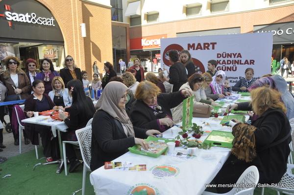 Forum Mersin'de TORTEK'ten İlginç Atölye Çalışmaları