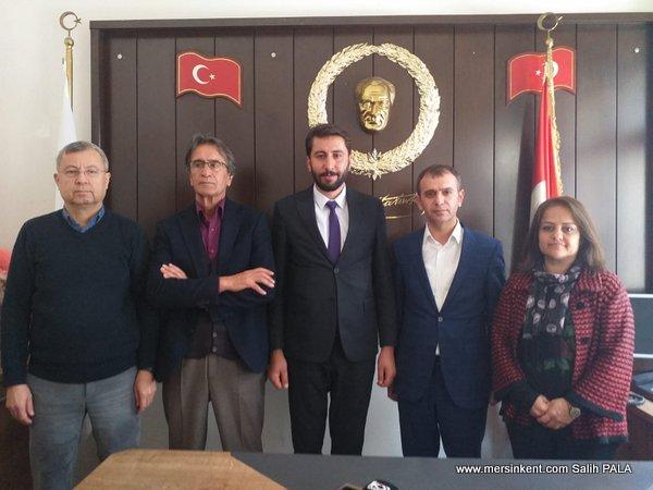 HDP Adaylarından MGC'ye Ziyaret