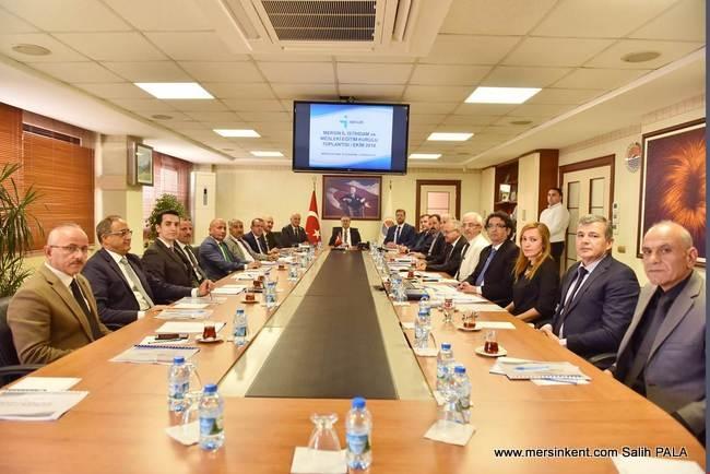 İl İstihdam ve Mesleki Eğitim Kurulu Toplantısı Vali Su Başkanlığında Yapıldı