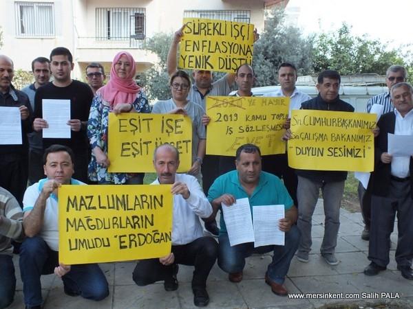 İşçiler, Cumhurbaşkanı Erdoğan'a  Mektup Yazdı
