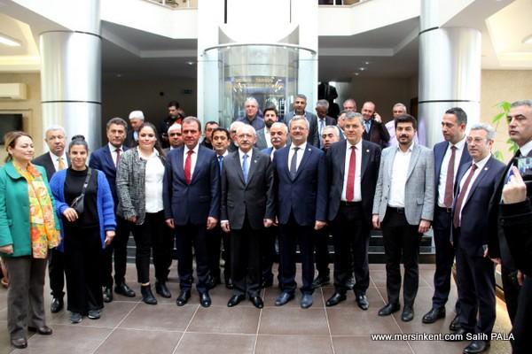 Kemal Kılıçdaroğlu MTOSB'yi Ziyaret Etti