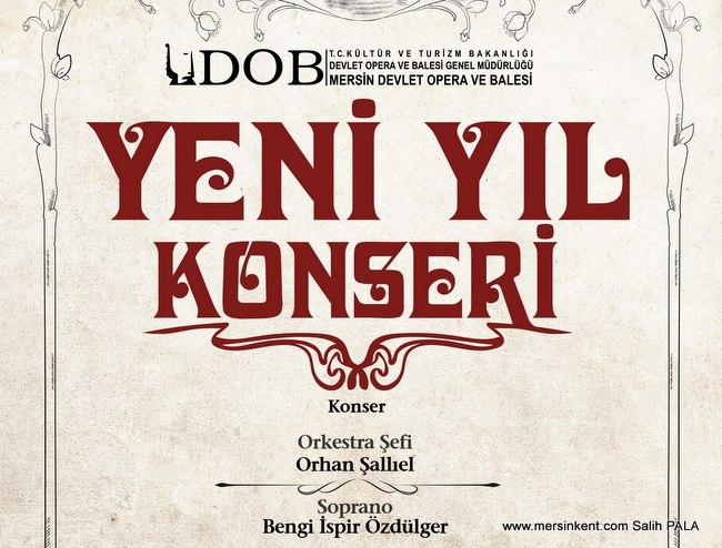 Mersin Devlet Opera ve Balesi Yeni Yıl Konseri