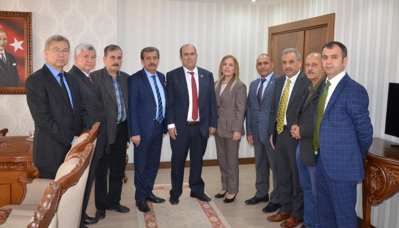 Mersin Gazeteciler Cemiyeti Tarsus'ta Ziyaretlerde Bulundu