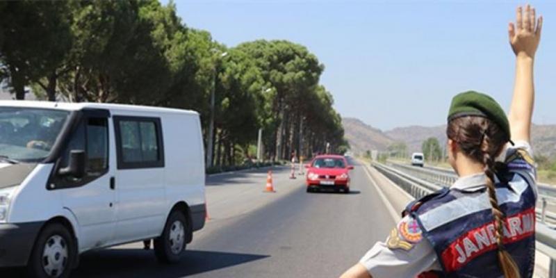 Mersin Jandarması Güvenlik, Asayiş, Trafik Denetimlerini Aralıksız Sürdürüyor