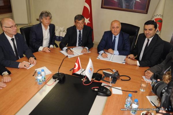 Mersin Ticari Bilgi ve İstihbarat Merkezi Türkiye'ye Model Oluyor
