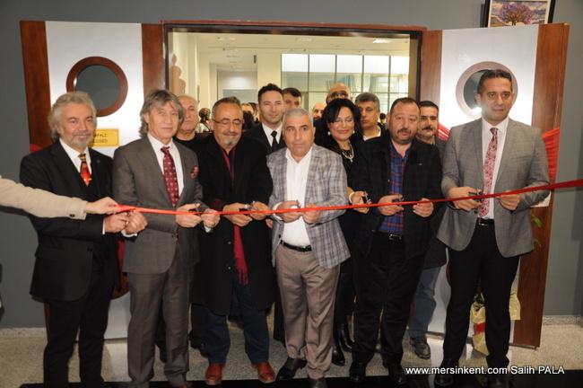 Mersin'de 3 Ocak Anısına Uluslararası Karma Resim  Sergisi