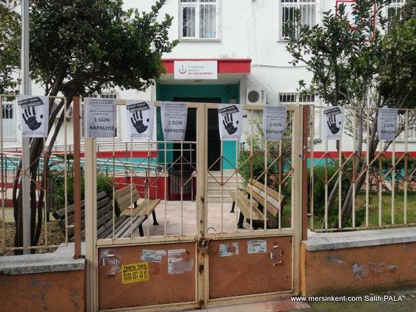 Mersin'de ASM Bir Günlüğüne İş Bıraktı