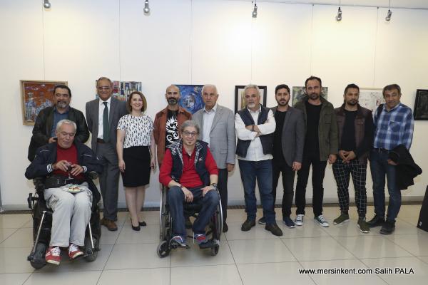 Mersin'de On İlden 23 Sanatçının Resim Heykel Karma Sergisi