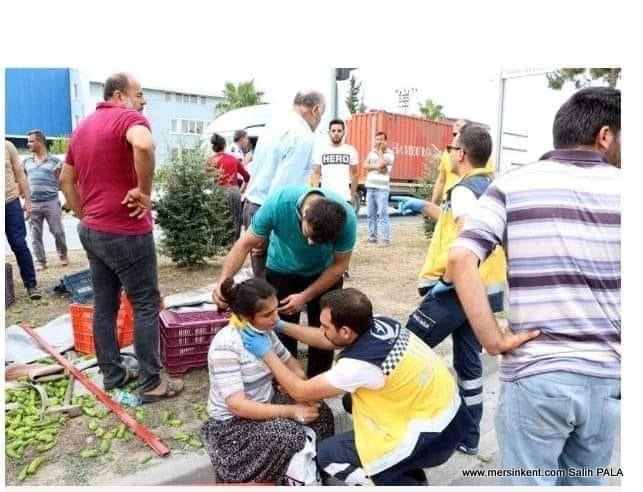 Mersin'deki Kazada 3 Tarım İşçisi Öldü