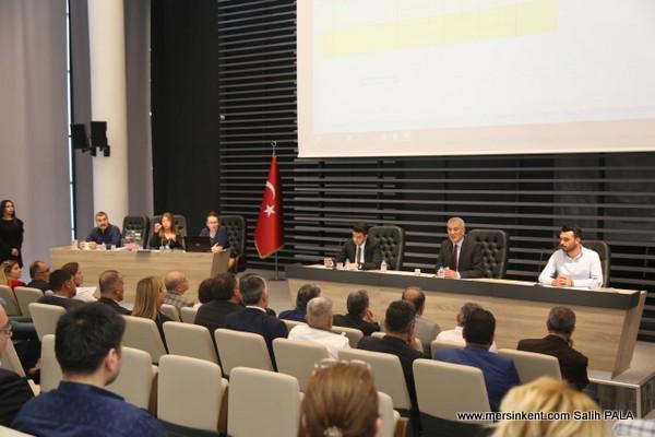 Mezitli Belediyesi Yeni Dönem İlk  Meclisini Gerçekleştirdi