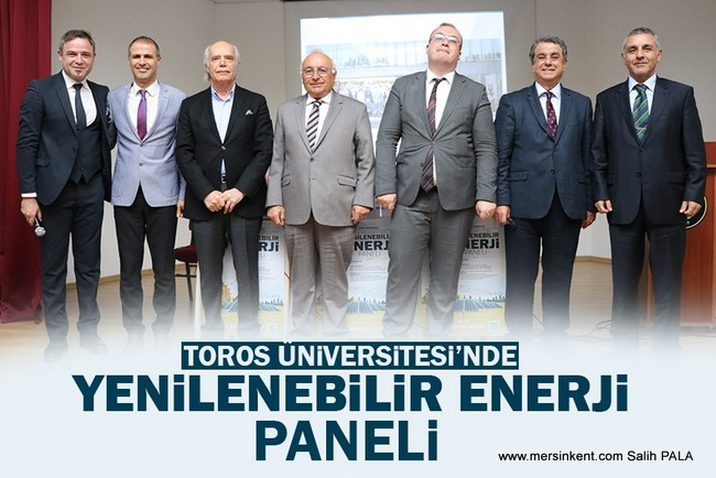 TOROS'TA YENİLENEBİLİR ENERJİ PANELİ