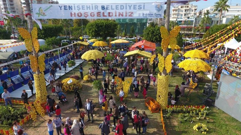YENİŞEHİR STANDINDA FESTİVAL COŞKUSU