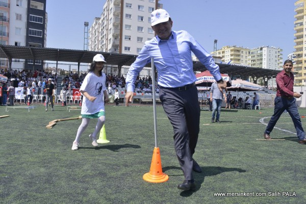 Yenişehir'de Engelli Haftası'nda Renkli Gösteriler