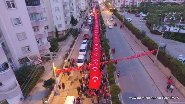 Binler, Çanakkale Ruhuyla Yürüdü