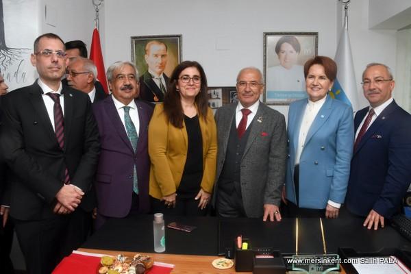 İYİ PARTİ GENEL BAŞKANI  AKŞENER MERSİN'DE
