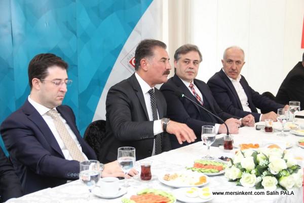 Mersin GİAD Cumhur İttifakı Adayları İle Bir Araya Geldi