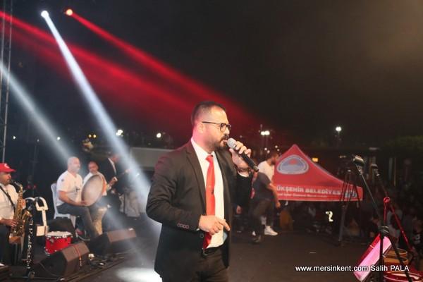 Mersin'de 19 Mayıs Coşkusu Konser İle Taçlandı
