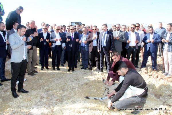 Mersin'de 3. Organize Sanayi Bölgesinin Temeli Atıldı