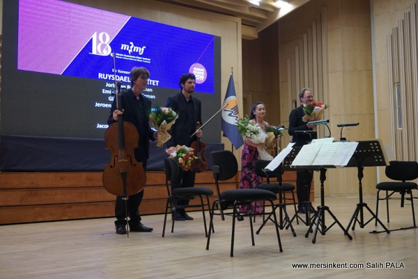 Ruysdael Quartet'in Muhteşem Mersin Konseri