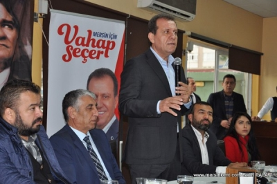 VAHAP SEÇER,AMATÖR SPORCULARA ÜCRETSİZ ULAŞIM,HER MAHALLEYE SPOR TESİSİ