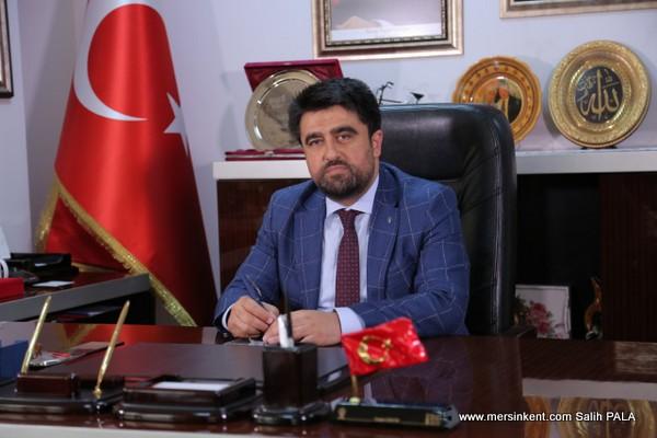 AK Parti Mersin il Başkanı Ercik, 30 Ağustos Zafer Bayramını Kutladı