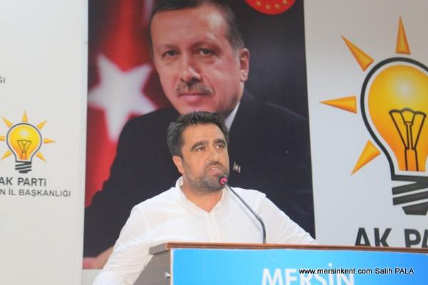 AK Parti Mersin İl Başkanı Ercik,Muhtarlar Demokrasimizin Temel Taşıdır