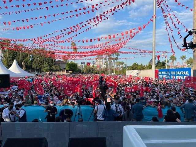 AK Parti Mersin İl Başkanı Ercik, Teşekkürler Mersin