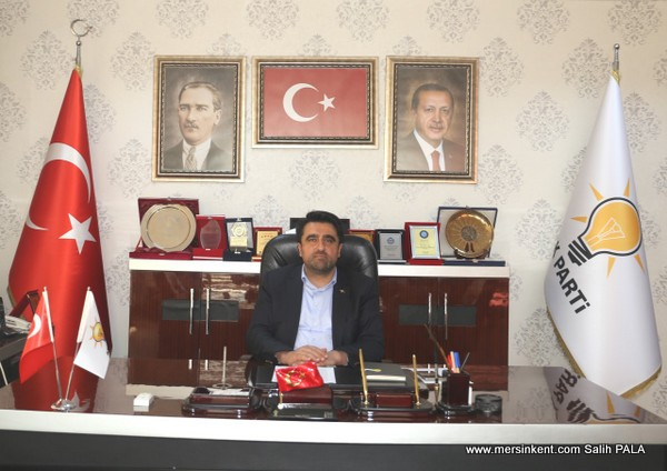AK Parti Mersin İl Başkanı Ercik,  Ramazan Bayramını Kutladı.