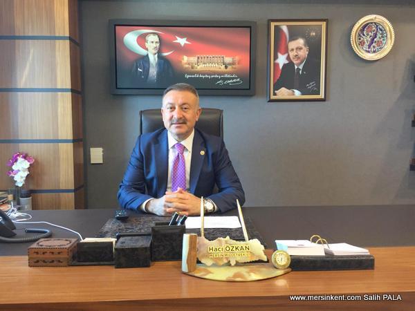 AK Parti Mersin Milletvekili Özkan, Ramazan Bayramını Kutladı