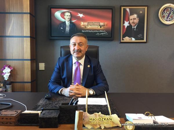 AK Parti Mersin Milletvekili Hacı Özkan, Kurban Bayramını Kutladı