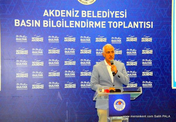 Akdeniz Belediye Başkanı Basın Bilgilendirme Toplantısında Değerlendirmelerde Bulundu