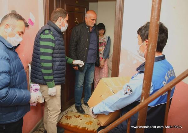 Akdeniz'de Vefa Sosyal Destek Grubu Çalışmalarına Başladı.