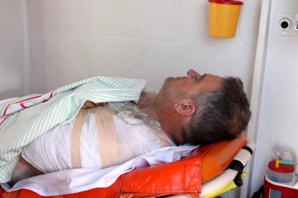 Ankara Yolunda Başkan Seçer'in Danışmanı Kazada Yaralandı
