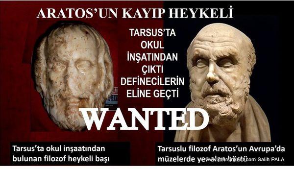 ARATOS HEYKELİ BULUNARAK TARSUS'A KAZANDIRILMALI