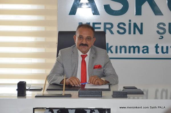 ASKON Mersin Şube Başkanı Arslan 30 Ağustos Zafer Bayramı'nı Kutladı