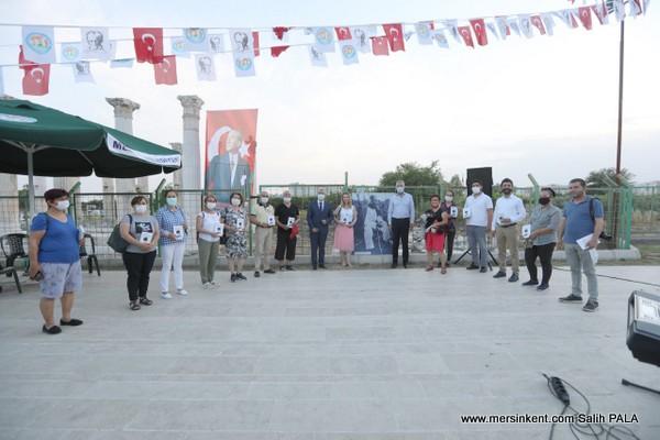 Atatürk'ün Mezitli'ye Gelişinin 82. Yılında Anma Düzenlendi
